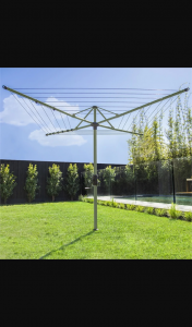 Female – Win a Hills Hoist 45m Pale Eucalypt Medium Rotary Clothesline Valued at RRP $290.00 (prize valued at $290)