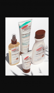 Female – Win a Palmer's Coconut Oil Pack Valued at $150.00. (prize valued at $150)