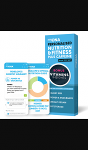 Female – Win One of 2 X Mydna's Personalised Nutrition & Fitness Kits Valued at $99 Each (prize valued at $99)