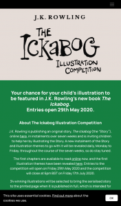 Hachette Books – Win Jk Rowley's The Ickabog Illustration Competition