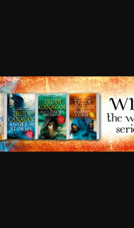 Hachette – Win a Pack Containing All Four Books In Trudi Canavan's Millennium's Rule Series