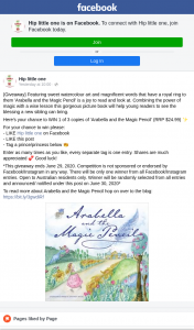 Hip Little One – Win 1 of 3 Copies of 'arabella and The Magic Pencil' (RRP $24.99) (prize valued at $75)