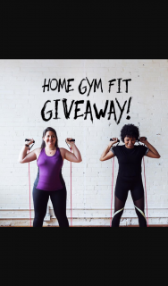 Home Gym Fit – Win an 11 Piece Resistance Band Set