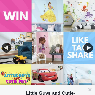 Little Guys and Cutie-pies – Win Your Choice of Wall Decal (prize valued at $118)
