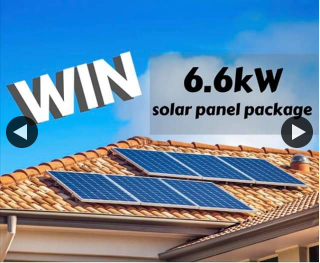 Motive Building Group – Win a 6.6kw Solar System (prize valued at $4,000)