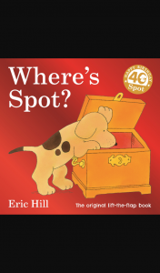 Planning With Kids Where's Spot 40th Anniversary Gigantic Giveaway closes June 10 2020 1145 pm AEST – Win The Where's Spot (prize valued at $50)
