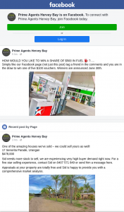 Prime Agents Hervey Bay – Win a Share of $500 In Fuel….. (prize valued at $500)
