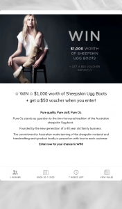 Pure Oz – ✩ $1000 Worth of Sheepskin