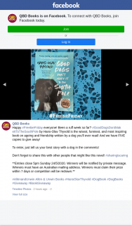 QBD Books – Win 1/5 Copies of Good Dogs Dont Make It to The South Pole By Hans Olav Thyvold