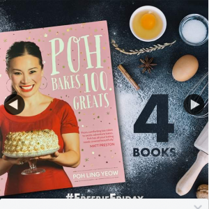 QBD Books – Win One of Four Copies of Poh Bakes 100 Greats By Poh Ling Yeow