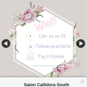 Salon Callidora South East Ipswich – Win a Full Set of Lashes Plus Mini Facial