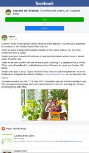 Seasol – Win a Seasol Indoor Plant Care Kit