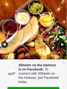 3Sheets on the Harbour – Win Our New Taco Takeaway Box Special (prize valued at $40)