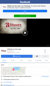 3 Sheets on The Lake – Win We Suggest That You Pre Order Via Phone 9242 8222 ( 7.30am to 11am Or After 4pm Tuesday to Friday ) $49 Each ( Brekky Box Available for 2 People for $27)