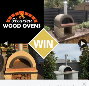 South Aussie With Cosi – Win a Courtyard Wood Oven From Fleurieu Wood Ovens?? (prize valued at $1,000)