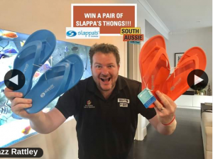 South Aussie With Cosi – Win a Pair for You and a Pair for Your Mate