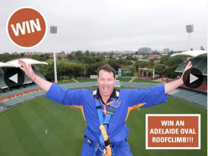 South Aussie With Cosi – Win an Adelaide Oval Roofclimb
