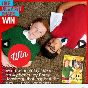 Stack magazine – Win One of Five Copies of My Life As an Alphabet By Barry Josenberg Thanks to Universal Sony