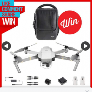 Stack Magazine – Win One of Two Dji Mavic Pro 4k Drone Fly More Combos (prize valued at $3,798)