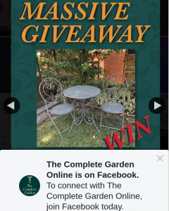 The Complete Garden Online – Win a Chloev 3piece Setting (prize valued at $299)