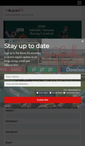 The Races SA – Win a Double Pass to Next Years Adelaide Autumn Racing Carnival (prize valued at $500)