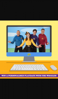 The Wiggles – Win a Personalised Play-Date With The Wiggles Via Zoom