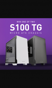 Thermaltake ANZ – Win One of Two S100 Micro Cases