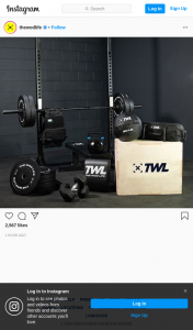 thewodlife – Win a Twl Home Gym (prize valued at $2,600)