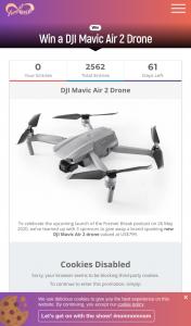 Travel with Bender – Win a Dji Mavic Air 2 Drone