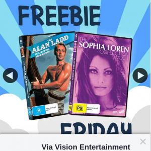 Via Vision Entertainment – Win an Alan Ladd & Sophia Loren DVD Prize Pack