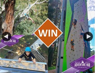 Win a Family Pass to The Mt Lofty Adventure Hub?