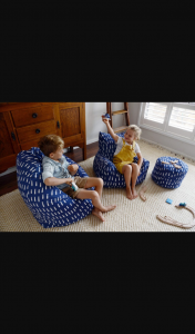 Win a Lelby Bean Chair Valued at $199 Thanks to Play Pouch (prize valued at $199)