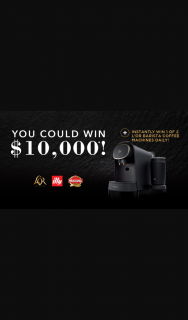 Woolworths – L'OR – Win Prize Is a L'or Barista Premium Latte Coffee Machine (prize valued at $249)