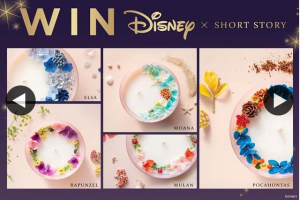 Zing Pop Culture – Win One of Five Disney X Short Story Candles