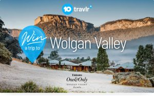 10 play – 10 travlr – Win a holiday for 2 to the Wolgan Valley