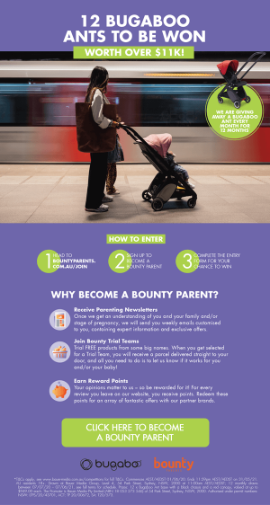 Bounty – Win 1 of 12 Bugaboo Ants