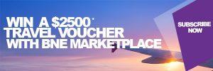 Brisbane Airport News – Win a 2,500 Travel Voucher