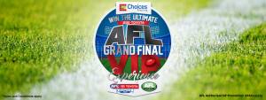 Choices Flooring – Win a major prize of the ultimate 2020 Toyota AFL Grand Final VIP Experience OR 1 of 17 weekly prizes
