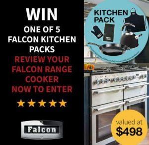 Falcon Australia – Win 1 of 5 Falcon kitchen prize packs
