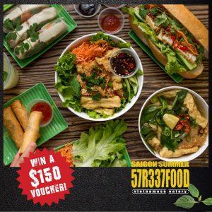 Saigon Summer – Win a $150 voucher to spend at Saigon Summer