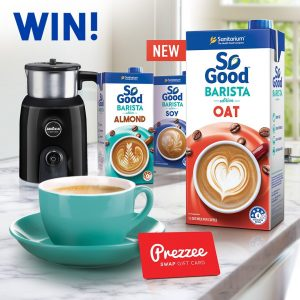 So Good – Win a Lavazza Milk Up Milk Frother PLUS a $100 Prezzee gift card