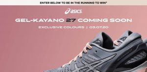 The Athlete's Foot Australia – Win 1 of 5 pairs of Asics Gel-Kayano 27 shoes