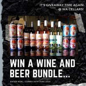 WA Cellars – Win 6 bottles of wine and 16 cans of brewed craft beer