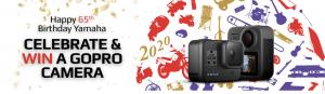 Yamaha – Win 1 of 2 GoPro cameras