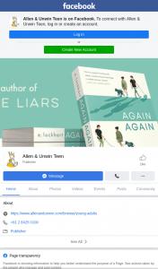 Allen & Unwin teen – Win One of Three Copies
