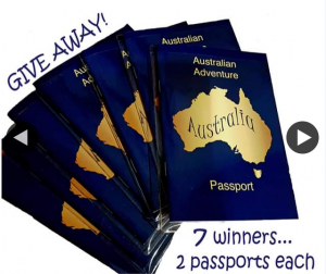 Australian Adventure Passport-Rothwell Publishing – Win One of Seven Packs of Two Passports