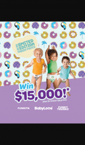 Babylove nappy pants – Win a 3 Month Supply of Babylove Nappies Valued at $250.00. (prize valued at $250)