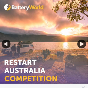 Battery World – Win a $250 Visa Gift Card and Get an Early Start to Your First Trip Back (prize valued at $250)