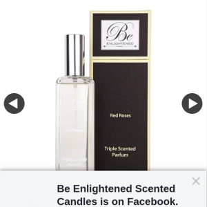Be Enlightened Scented Candles – Win a 120ml Luxury Parfum Valued at $129.99 By Simply Telling Us Which Fragrance You Would Love to Win and Why (prize valued at $129.99)