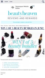 Beauty Heaven – Win 1 of 5 Beauty Bundles In June